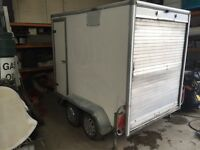 8ft box trailer