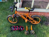 Kids Orange bike