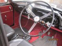 Morris Minor, 1958 4 door saloon with 1275cc engine