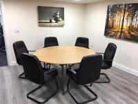 Conference table and 6 chairs excellent condition