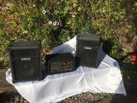 Yamaha mixer PA system