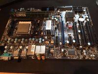 AMD Phenom II x4 955 MSI 770 C45 4GB Kingston DDR gaming combo
