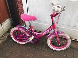 Girls Pink Molly Bike