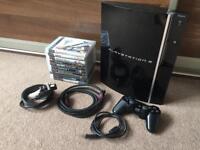 Playstation 3 ( PS3 ) & 10 Games VGC