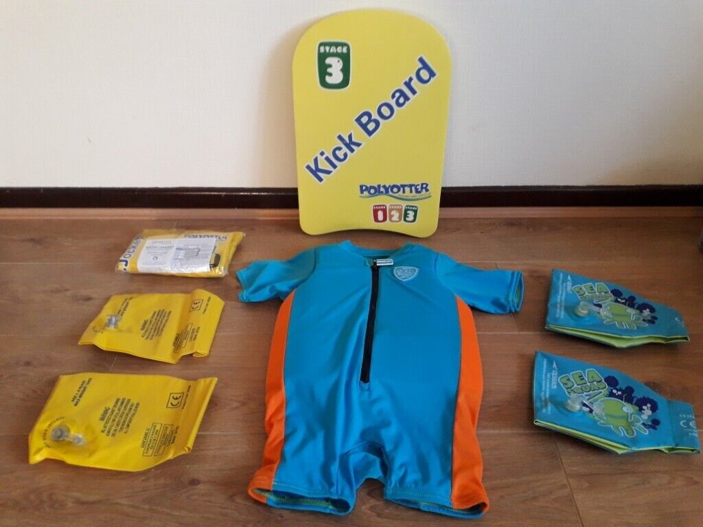 0fd7c49b 4 images Speedo Sea Squad float suit / Polyotter swim aids Doagh ...