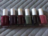 Essie Nail Varnish Set - x6 15ml Bottles Of Professional Nail Polish