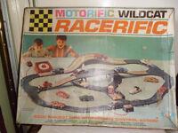 RACERIFIC WILDCAT RACECAR GAME FROM 1960'S