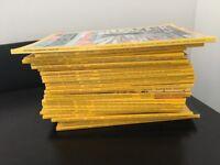 26 National geographic magazines