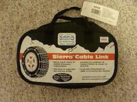 Car chains - brand new, never used