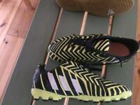 Boys adidas football turf boots