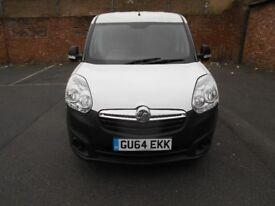 2014 VAUXHALL COMBO 13HDI YEAR MOT EURO 5 LOW MILES S/HISTORY PANEL VAN EXCELLENT RUNNER