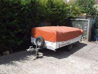 Conway 4 berth trailer tent.