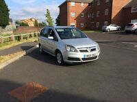 2006 Vauxhall Zafira 1.6 Petrol 5 Speed Manual 7 Seater Silver 2 Keys Looks Runs & Drives Great