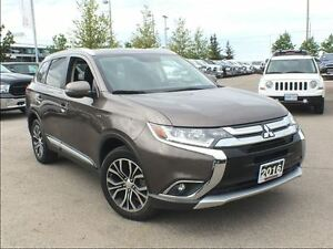2016 Mitsubishi Outlander GT AWD**LEATHER**SUNROOF**