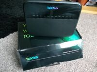 Talk Talk Broadband Wireless Router, Model HG533