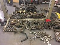 BREAKING PARTS SPARES - BMW E34 E36 E38 E46 E53 X5 Z3 M3 suspension hubs arms racks radiators shafts
