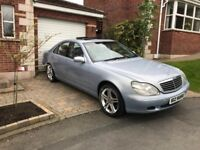 Mercedes S500 only 2 owners, MOT, immaculate. non smoker