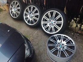 BMW M3 e46 genuine 19 wheels