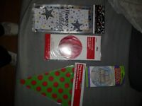 Job lot party items