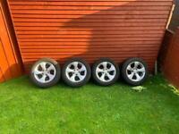 "16"" BMW alloy wheels and tyres ( 3 series, traffic , vivaro)"
