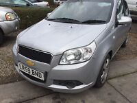 2009-59 reg Chevrolet Aveo..1200cc,low mileage