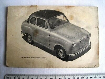 Vintage Austin A30 Maintenance Handbook (Missing First & Last 4 Pages)