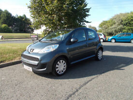 PEUGEOT 107 URBAN HATCHBACK 2012 ONLY 51K MILES £20 A YEAR ROAD TAX BARGAIN £2750 *LOOK* PX/DELIVERY