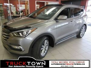 2017 Hyundai Santa Fe Sport LOADED LIMITED-EVERY AVAILABLE OPTIO