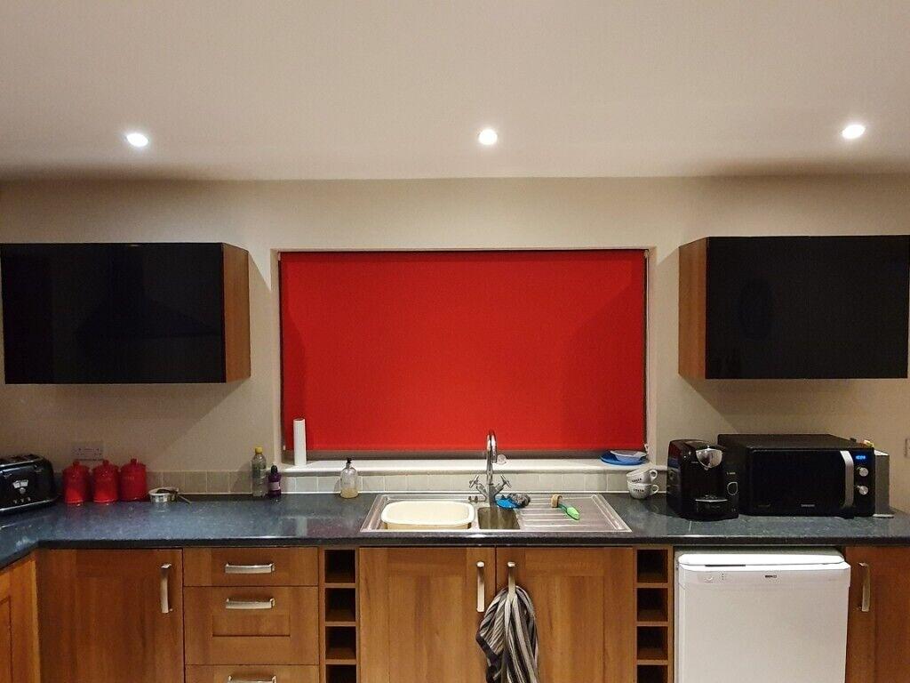 2 x Black Gloss Kitchen cabinets / cupboards | in Dereham ...