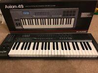 M-Audio Axiom 49 MIDI Interface (Keyboard)