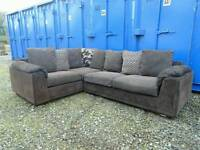 Brown Corner Sofa *Good Clean Condition,Delivery Available*