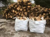 Seasoned firewood