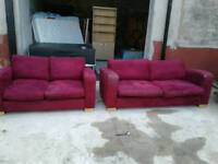Pair of sofas free delivery