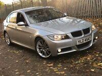 2007 BMW 320D 3 SERIES 2.0 M SPORT DIESEL MANUAL SALOON SILVER MOT EXCELLENT DRIVE NO 520 C CLASS A4