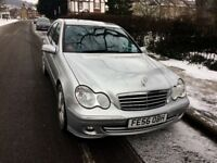 2006 AUTOMATIC*MERCEDES BENZ C-CLASS180*BLUETOOTH*CRUISE CONTROL*78000MILES*MOT'D 03/2019*5 DOORS *