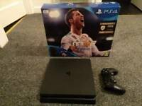 PS4 Slim Console PlayStation 4 Boxed Ideal Xmas Present
