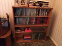 SOLD - Small Book shelf and books