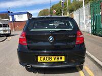 2008 (08 reg) BMW 1 Series 2.0 118d SE 5dr Turbo Diesel Automatic Low Miles