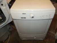 ZANUSSI 7KG CONDENSER TUMBLE DRYER IN GOOD CLEAN WORKING ORDER & PAT TESTED