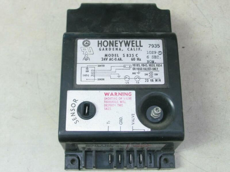 Honeywell S825C Furnace Ignition Control Module 24V