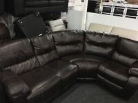 New/Ex Display LazyBoy Recliner Group Sofa