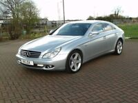 2007 MERCEDES BENZ CLS 320 CDI AUTOMATIC FULLY LOADED SAT NAV HEATED LEATHER ETC