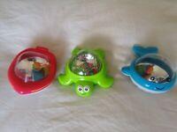 John Lewis 'Bathtime Twinklers' Bath Toys (as new)