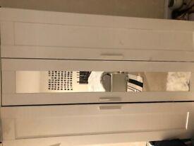 Ikea brimnes wardrobe 3 door