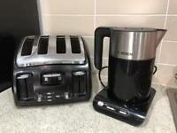 Bosch kettle and tefal toaster