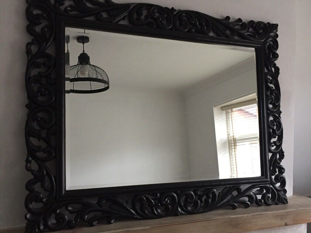 Large Black Decorative Mirror In Bedminster Bristol Gumtree