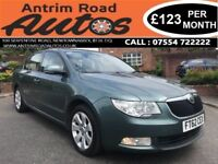 2012 SKODA SUPERB GREENLINE 1.6 TDI ** 105 BHP ** FINANCE AVAILABLE WITH NO DEPOSIT