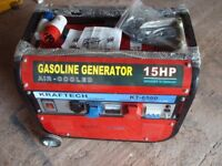 Kraftech Generator KT6500 . New : Bought for Wedding standby but not needed