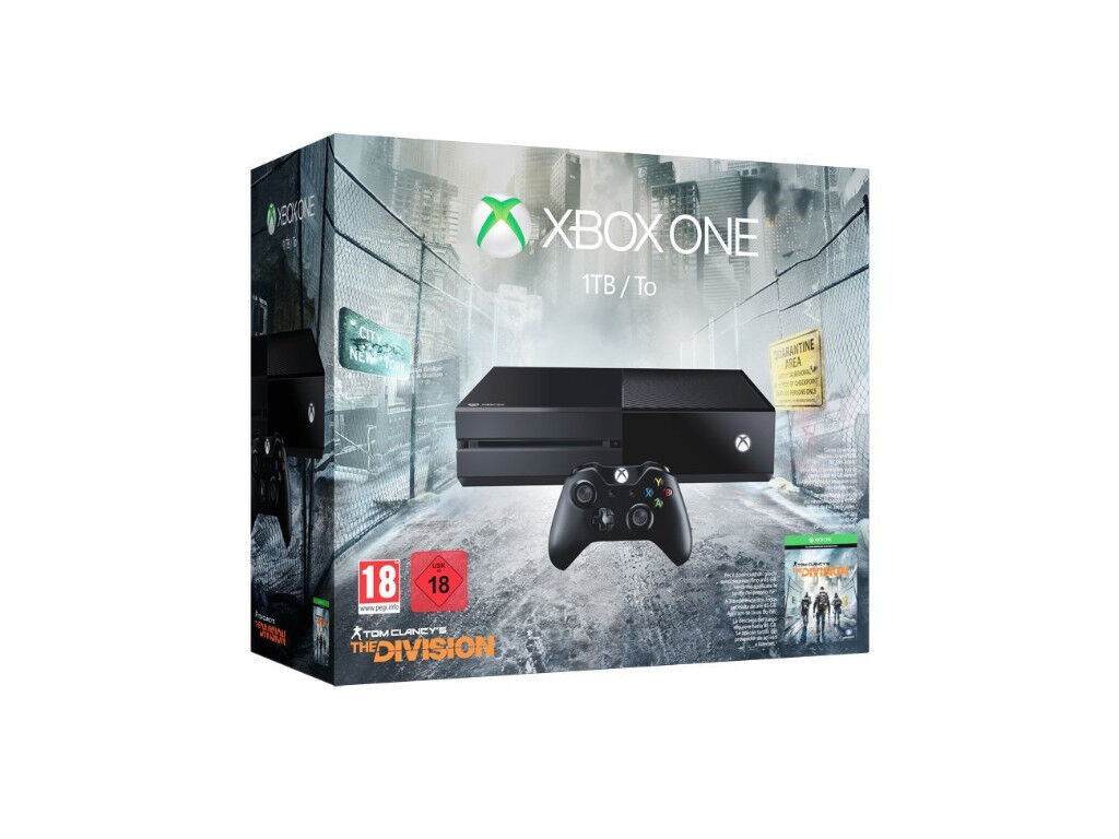 XBOX ONE 1TB (TOM CLANCY'S DIVISION EDITION)