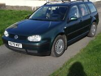 Volkswagon Golf S Estate - 1.6 - Green